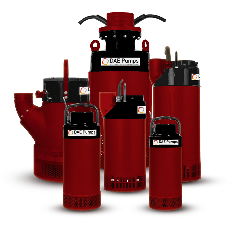 DAE Pumps Gulfport Submersible Dewatering Pumps