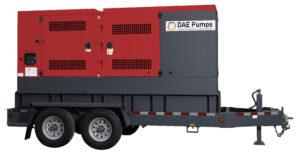 DAE Pumps Horton 250 Mobile Power Generator
