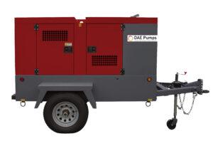 DAE Pumps Horton 70 Mobile Power Generator