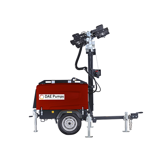 DAE Pumps SITE M5 Mobile Light Tower