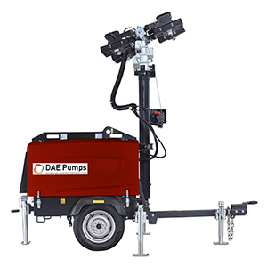 DAE Pumps SITE Mobile Light Tower