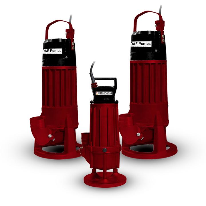 DAE Pumps Sonora Submersible Sludge Pumps