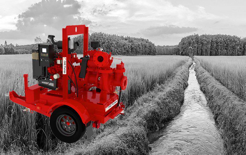 DAE Pumps Self-Priming Pump in Field