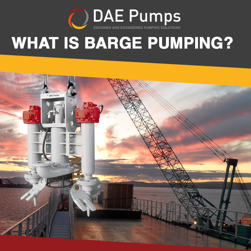 What is Barge Pumping