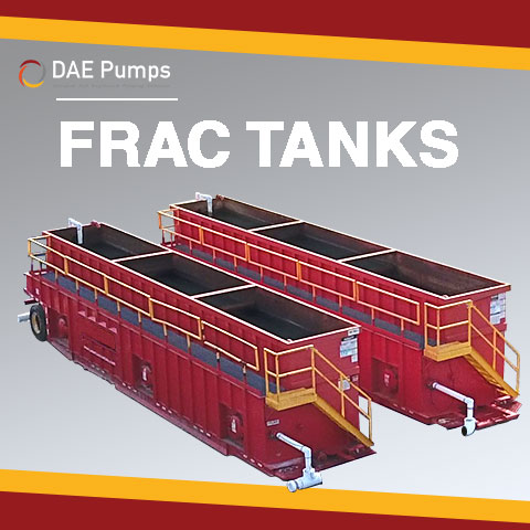 DAE Pumps Frac Tank Cleaning