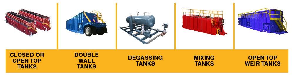 Different Types Of Frac Tanks