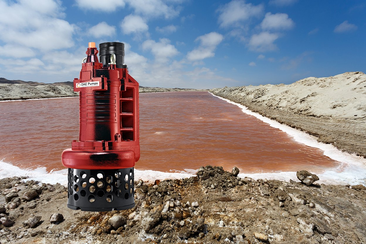 DAE Pumps S-Series Salt Mineral Mining