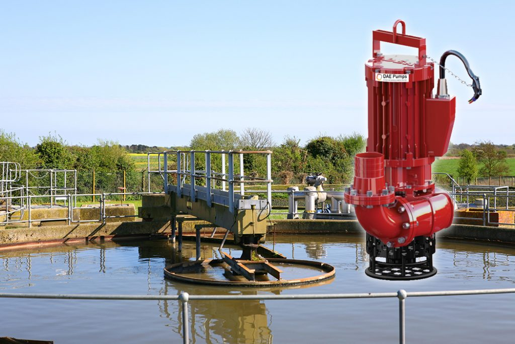 DAE Pumps SLD-Series Sewage Treatment