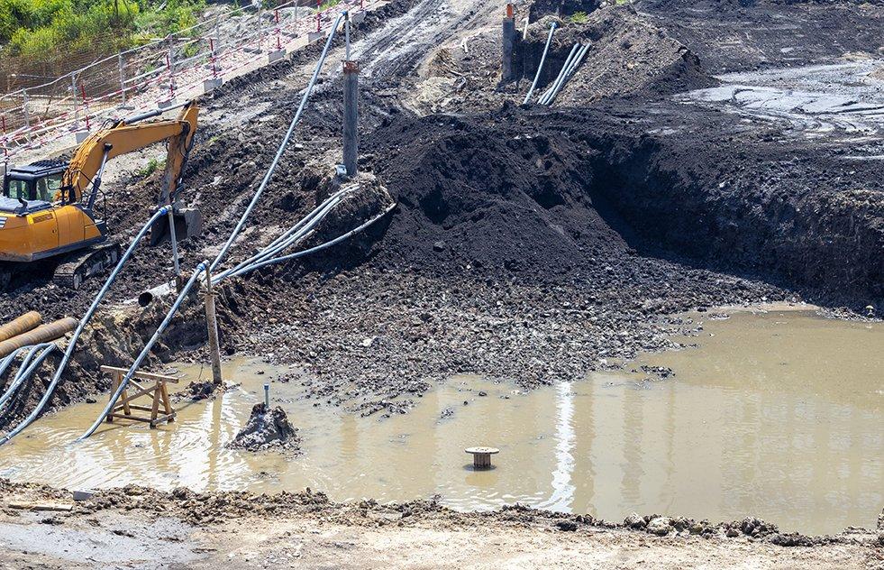 Flooded Excavation