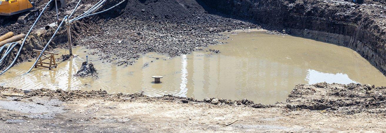 Construction Site Flooding