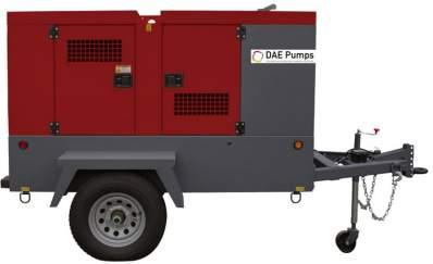 Horton Mobile Diesel Generator Trailer or Skid