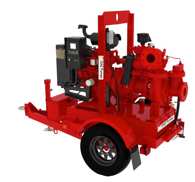 DAE Pumps Self-Priming MAX Series Portable Pump