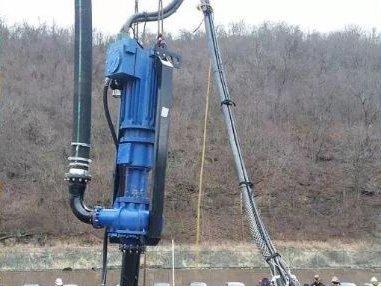 Cresta Reservoir – Cable Hanging Dredge