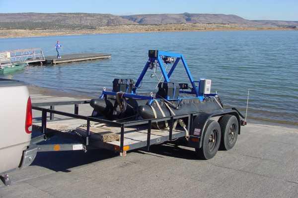 Floating Dredge Platform